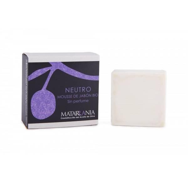 Organic natural soap mousse Matarrania 125gr.
