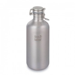 "Stainless steel Bottle ""Growler"" 1900ml."