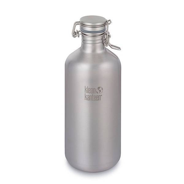 "Botella de acero inoxidable ""Growler"" 1900ml."