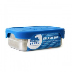 Recipiente hermético rectangular de inox y silicona...