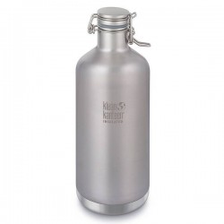 "Gourde isotherme en inox ""Growler"" 1900 ml."