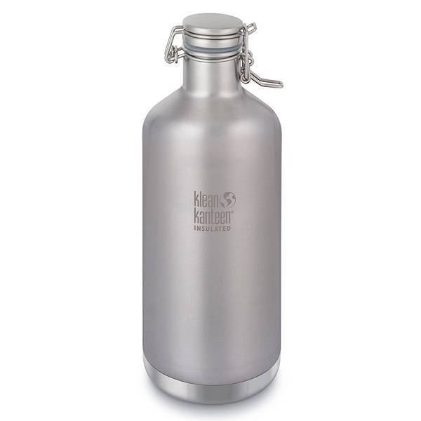 "Botella térmica de acero inoxidable ""Growler"" 1900 ml."