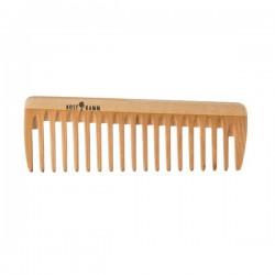 Wooden Comb with Wide Teeth 14cm.