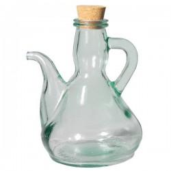 Aceitera de vidrio reciclado 0,5 L.
