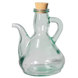 Recycled Glass Oil Bottle 0.5 L.