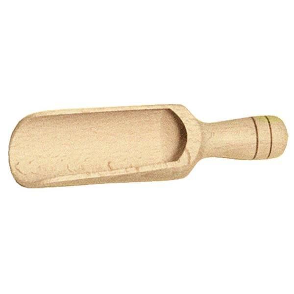 Pala de madera de harina y especias grande