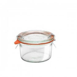 "Glass Airtight Canning Jar ""MOLD"" 165 ml."