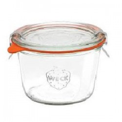 "Glass Airtight Canning Jar ""MOLD"" 0,37l."