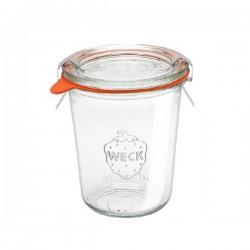 Tarro redondo de vidrio hermético alto 0,29l.
