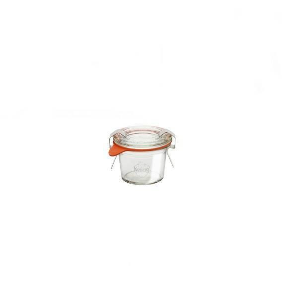 """Pot en verre rond hermétique """"MOLD"""" 35ml."""
