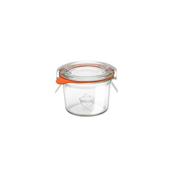 "Glass Airtight Canning Jar ""MOLD"" 80ml."