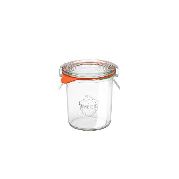 "Glass Airtight Canning Jar ""MOLD"" 140 ml."
