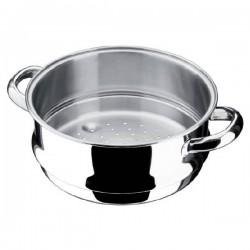 """Ensemble cuit vapeur """"Ecco Acero"""" couvercle acier"""
