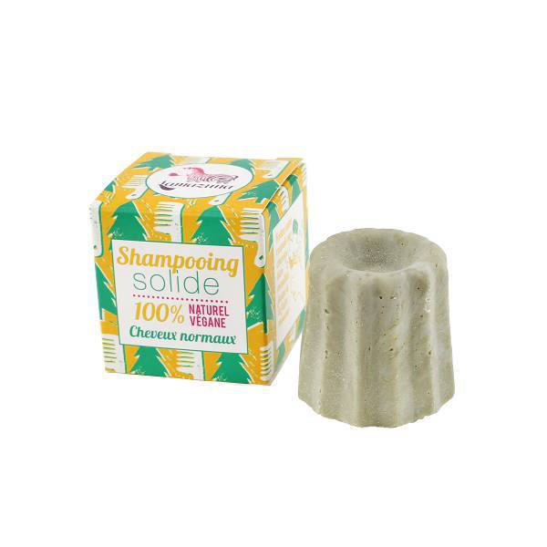 Shampoing solide naturel cheveux normaux  Pin sylvestre 55gr.