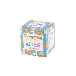 Champú sólido natural para cabello seco de Naranja 55 gr.
