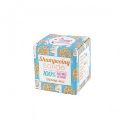 Shampoing solide naturel cheveux secs Orange 55gr.