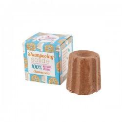 Natural shampoo bar for dry hair Orange 55 gr