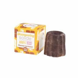 Champú sólido natural de chocolate para cabello normal 55 gr.