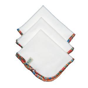 Toallita reutilisable de algodón orgánico