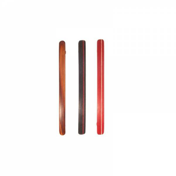 Wooden clip for fine hair 11 cm