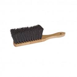 Balayette en bois et fibres végétales 30 cm