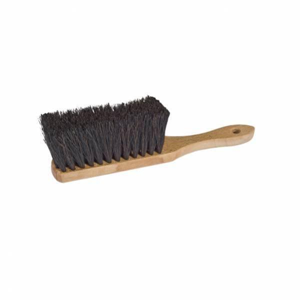 Cepillo escoba de mano de fibra vegetal 30 cm
