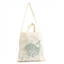 "Sac de courses en coton bio ""Be part of the change"""