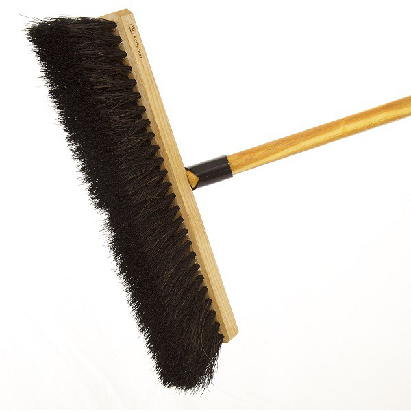 Outdoor Broom With Vegetable Bristles Redecker
