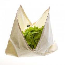 Bolsa de algodón orgánico para lechuga