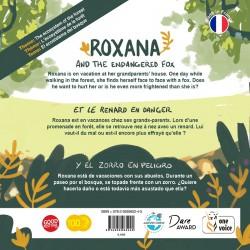 Roxana et le renard en danger