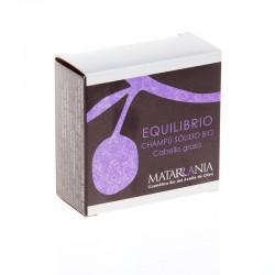 Champú sólido bio Equilibrio para cabello graso 100 g.