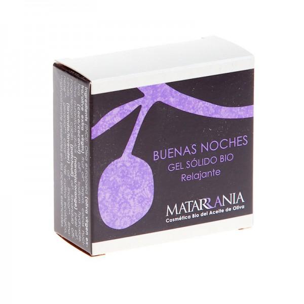 Organic natural solid showel gel Buenas noche 100 gr