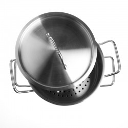 """Profesional Line"" Stainless Steel Steamer Stock Pot"