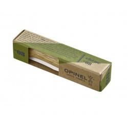 Couteau de poche en inox et bois noble 8,5cm.