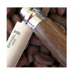 Stainless Steel & Fine Wood Pocket Knife 8,5cm.