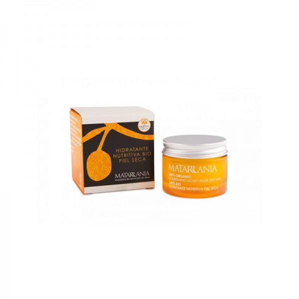 Crème hydratante peau sèche bio Matarrania