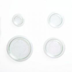 Tapa de vidrio para tarros Weck