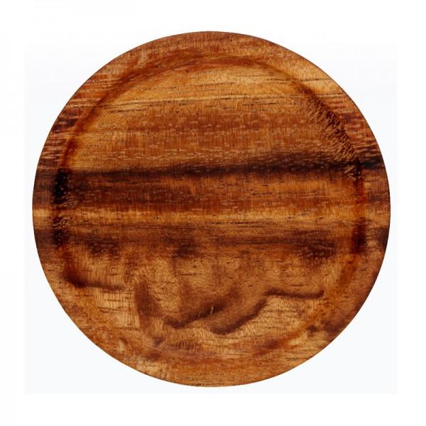 Wood lid for weck jars