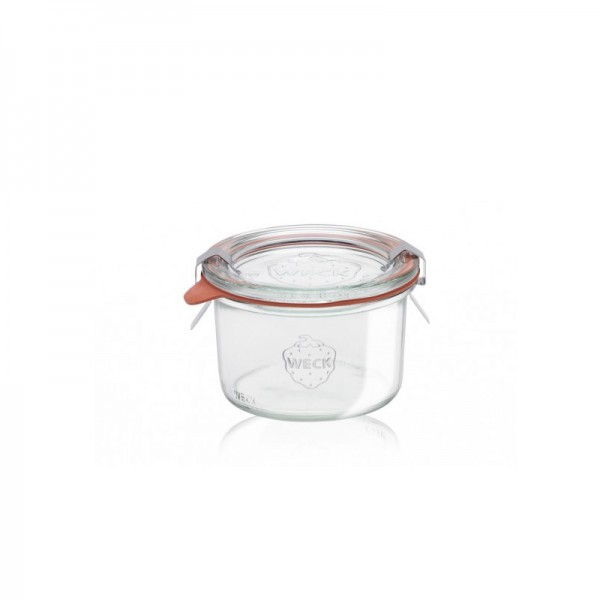 "Glass Airtight Canning Jar ""MOLD"" 200 ml."