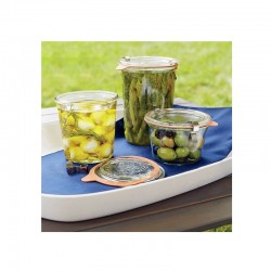 "Glass Airtight Canning Jar ""MOLD"" 200 ml."