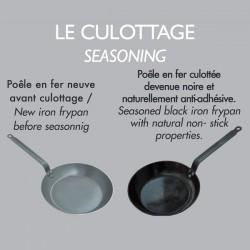 Mineral B Iron frying pan. De Buyer