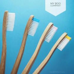 Brosse à dents en bambou Boo, Souple