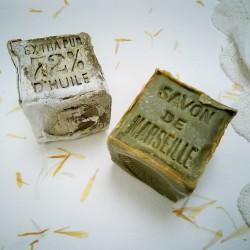 Cubo de jabón de Marsella