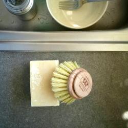 Savon à vaisselle solide