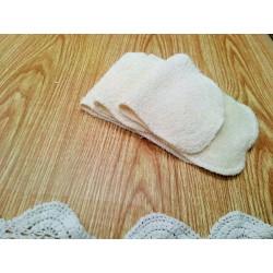 Lingette réutilisable en coton biologique