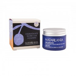Organic moisturing cream for men Matarrania
