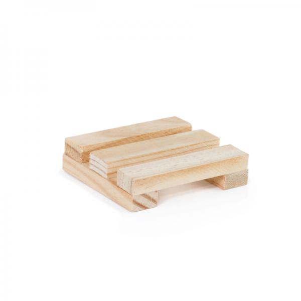Jabonera de madera local