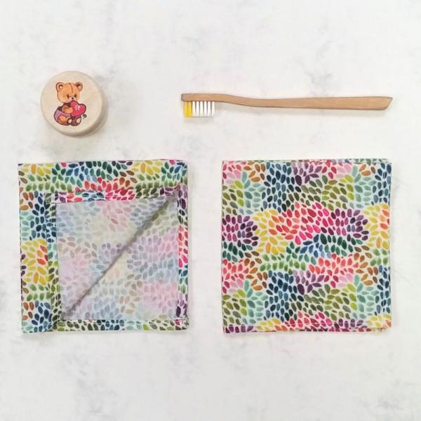 Pañuelo infantil de tela de algodón orgánico