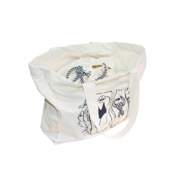 Organic cotton beach bag