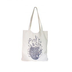 "Organic cotton handbag ""Mermaid"""